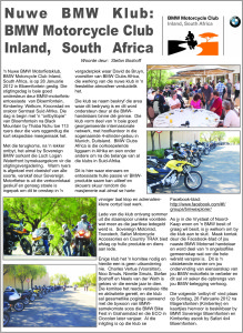 Volksblad BMW Motorfietsklub 2012